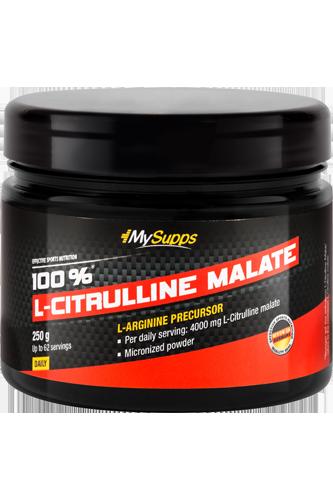 My Supps 100% L-Citrulline Malate - 250g
